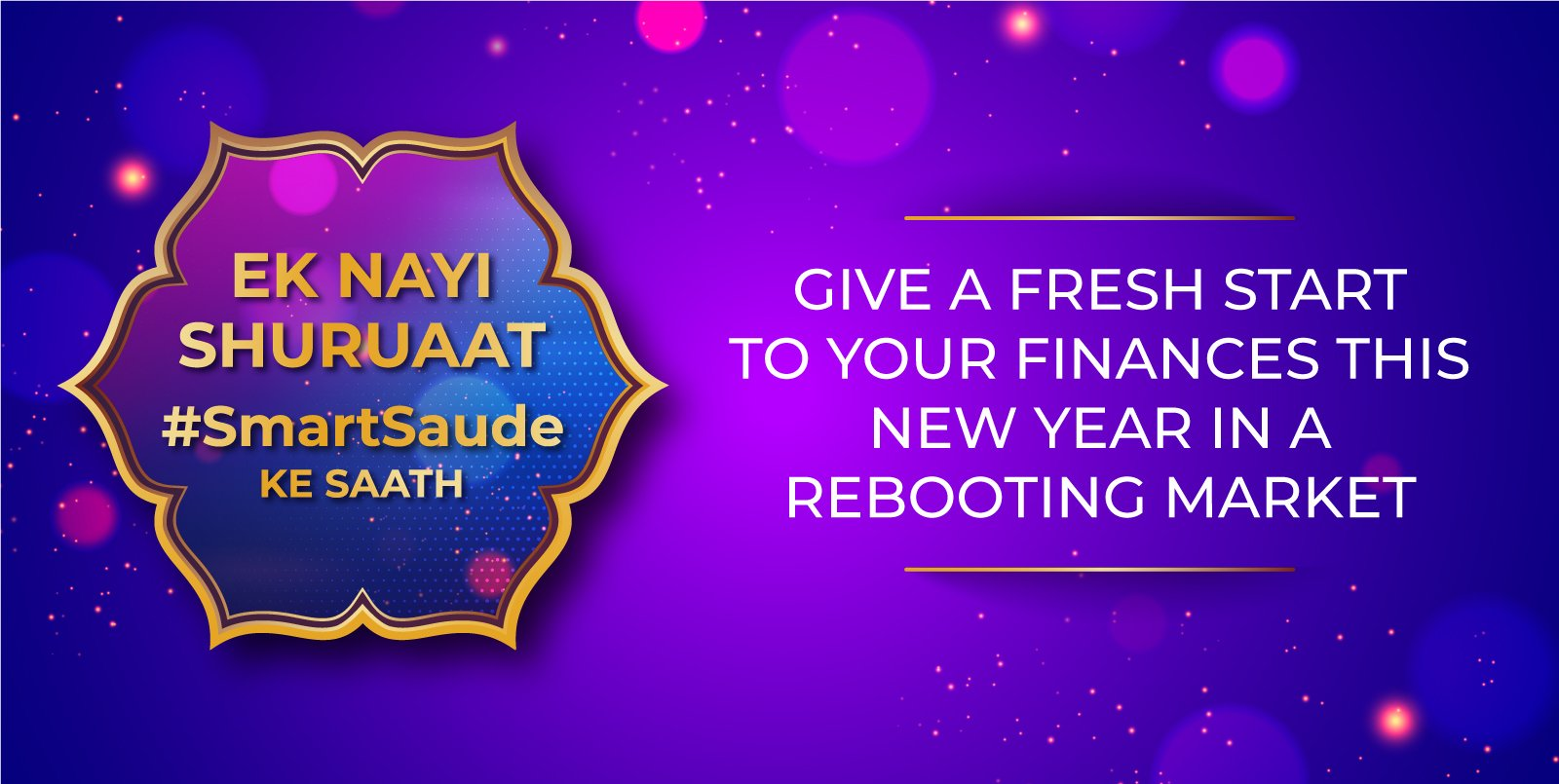 Give a fresh start to your finances this new year in a rebooting market