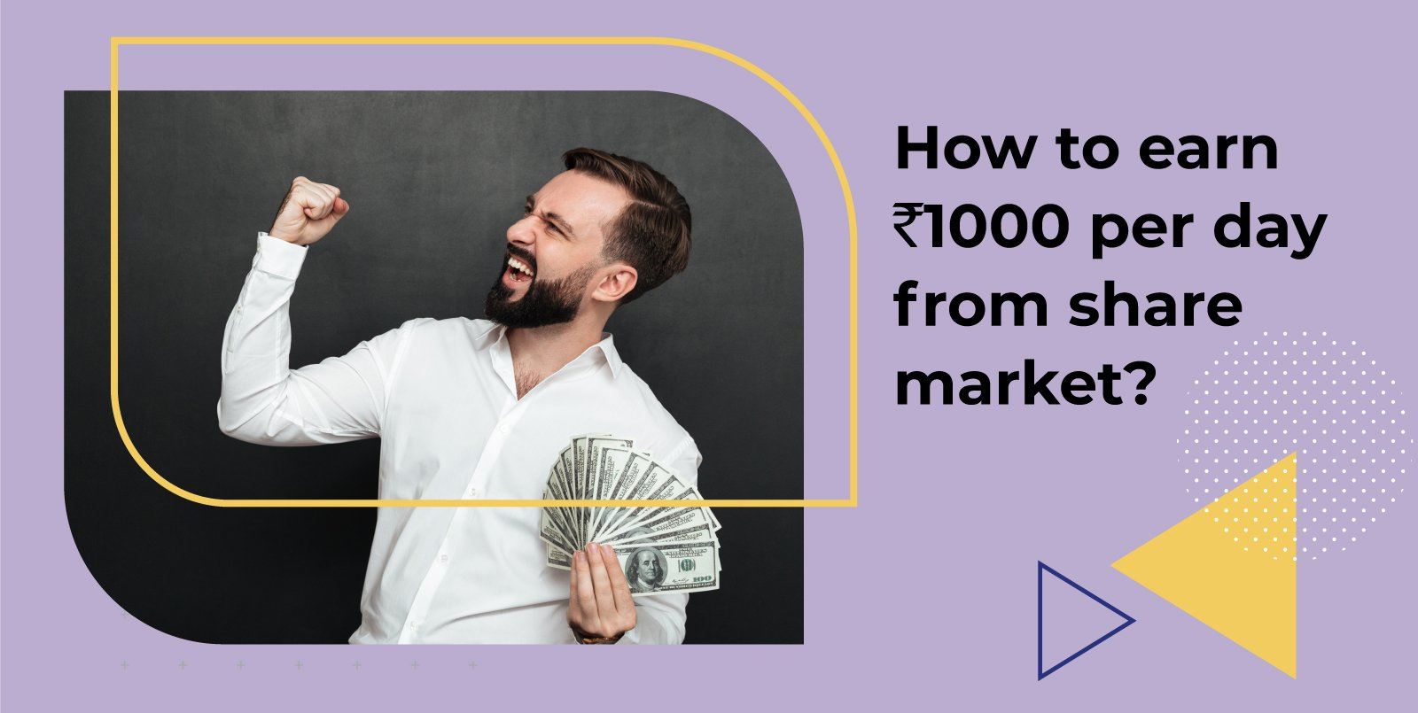 How to earn Rs.1000 per day from the share market