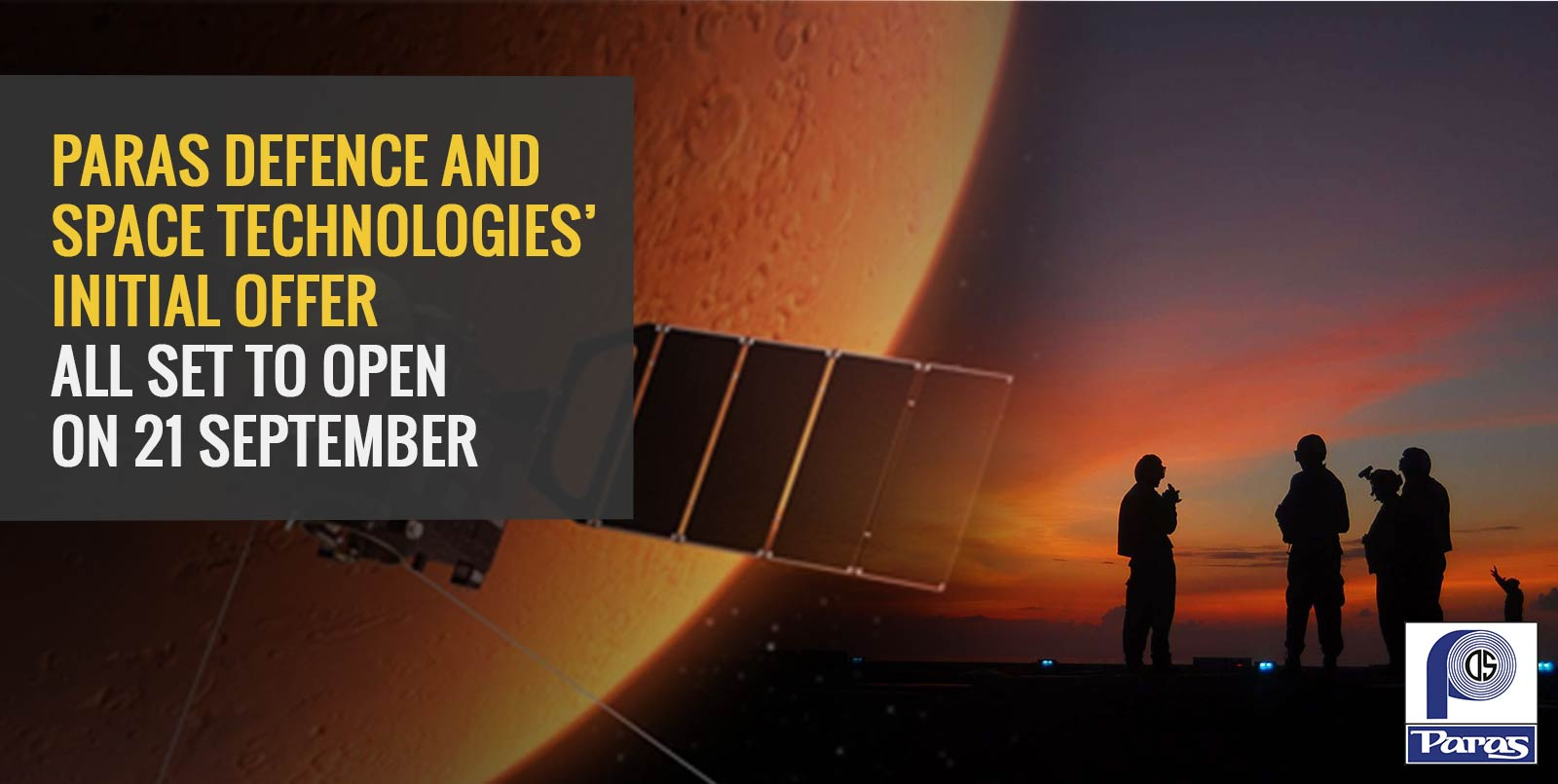 Paras Defence and Space Technologies' Initial Offer All Set to Open on 21 September