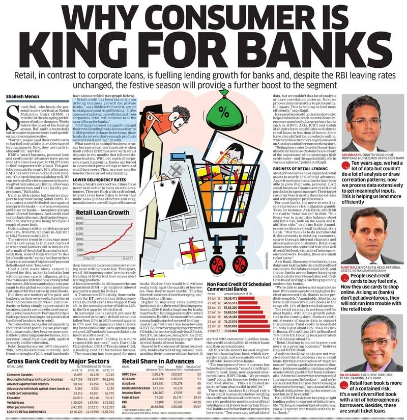 Why Consumer Is King For Banks